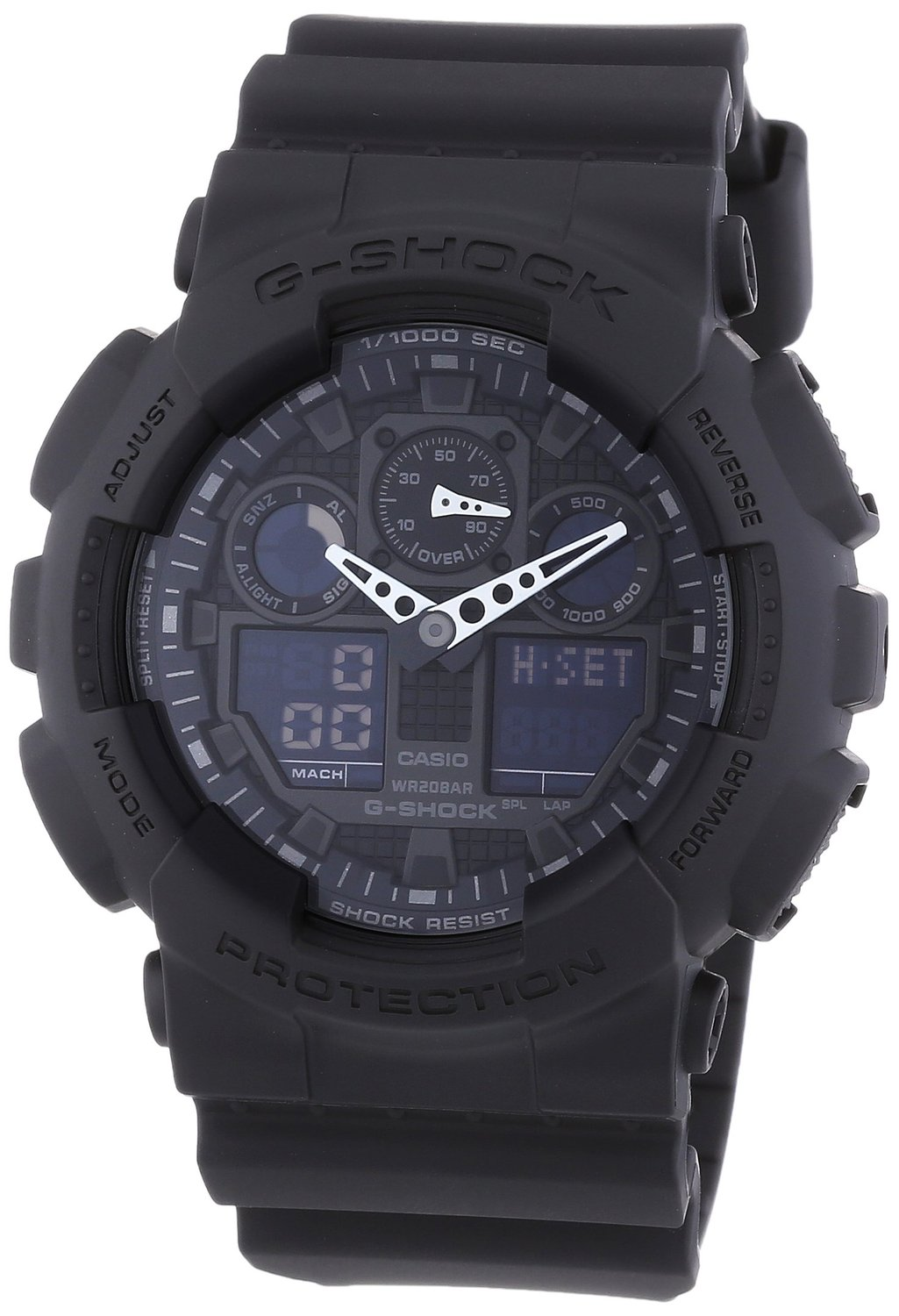 casio g shock ga 100 1a1er s lection caract ristiques et prix sportoza. Black Bedroom Furniture Sets. Home Design Ideas