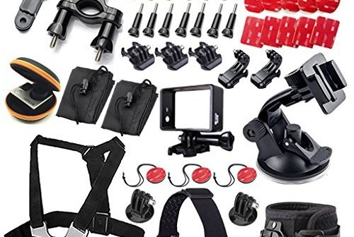 kit 49 accessoires pour gopro 4 gopro hero gopro hero 3 2 et gopro hero mod les avantages. Black Bedroom Furniture Sets. Home Design Ideas