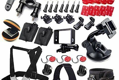kit 49 accessoires pour gopro 4 gopro hero gopro hero 3 2 et gopro hero mod les avantages. Black Bedroom Furniture Sets. Home Design Ideas