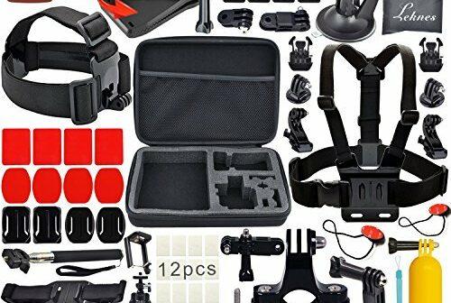 kit accessoires pour gopro hero prix et avis sportoza. Black Bedroom Furniture Sets. Home Design Ideas
