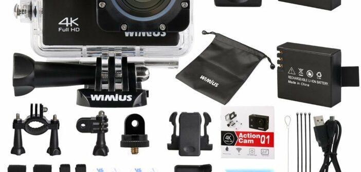 Guide d'achat de la caméra sport 4k : modèles, accessoires, applications