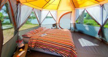 Grande tente de camping