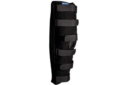 Attelle d'immobilisation du genou à 0° hauteur sol-entrejambe 50-60 cm