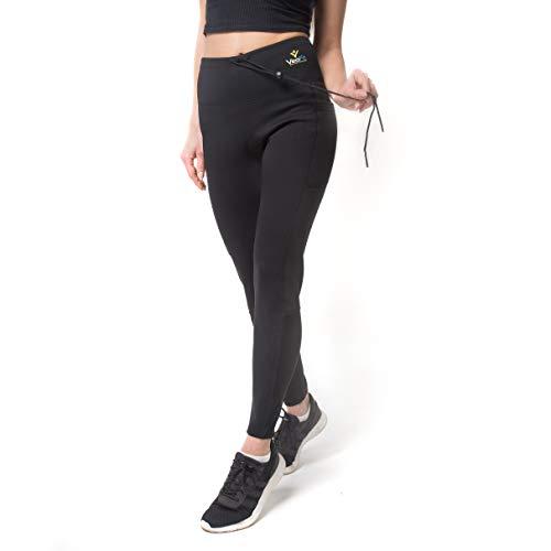 VEOFIT Pantalon de Sudation Taille M pour Tonifier Ses Jambes et Obtenir Un  Ventre Plat sans 04796ca3629