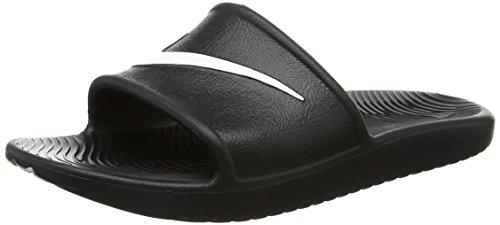 Nike Kawa Shower, Chaussures de Plage et Piscine Homme, Noir (Black/white), 38.5 EU