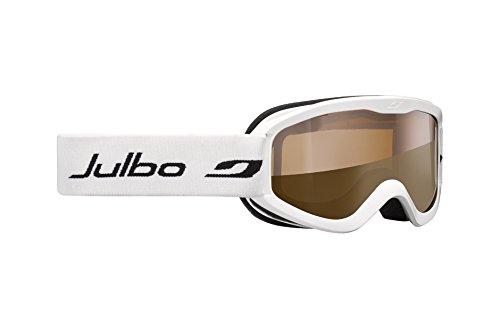 Julbo Proton Masque de ski Mixte Enfant, Blanc, Taille S