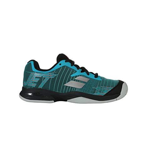 Babolat Enfants Jet Allcourt Junior Chaussures De Tennis Chaussure Tout Terrain Bleu Foncé - Bleu 39
