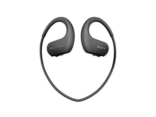 Sony Walkman NW-WS413 - Lecteur MP3 Intégré à des Ecouteurs - Etanche - 4 Go - Noir