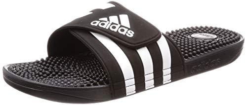 Adidas Adissage, Chaussures de Plage & Piscine mixte adulte - Noir (Negro 000), 42 EU (8 UK)