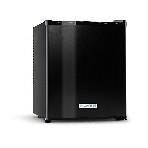Klarstein MKS-11 Minibar silencieux (design soigné, format compact de 38cm de largeur, poids léger, capacité de 25L, 0dB) - noir