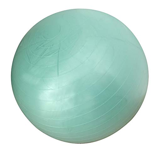BIGTREE Ballon Fitness, de Gymnastique Balle, Yoga Pilates Core Training,de Yoga avec Pompe (Vert, 65)