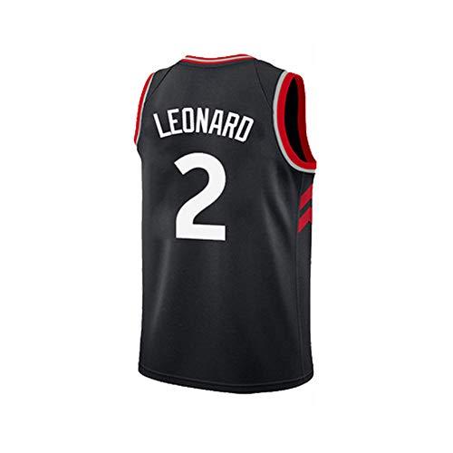 SEYE1° T-Shirt De Basketball, Raptors De Toronto, Maillot NBA, Maillot Leonard 2, Débardeur sans Manches Noir Classique