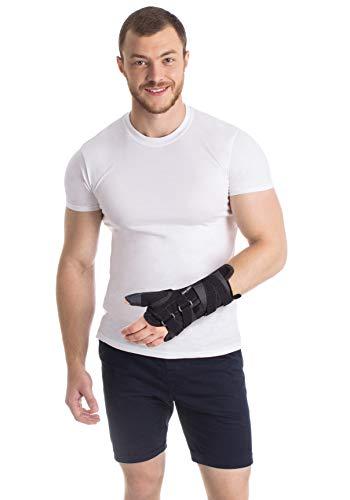 TOROS-GROUP Attelles d' immobilisation pour poignet et avant-bras Orthese Support pour le pouce Main GAUCHE Medium