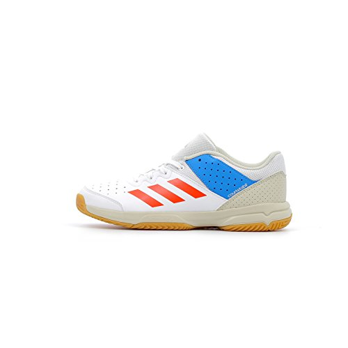 adidas Court Stabil Jr, Chaussures de Handball Mixte Adulte, Multicolore (Multicolor 000), 39 1/3 EU