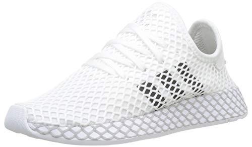 adidas Deerupt Runner J, Chaussures de Fitness Mixte Adulte, Blanc (Blanco 000), 39 1/3 EU