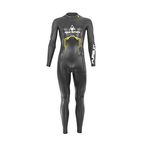 Aqua Sphere Combinaison de plongée pour Triathlons S Noir/Jaune