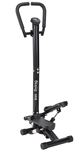 Innoliving FIT-804 Stepper avec Guidon, Noir