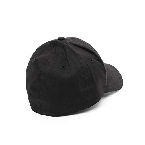 New Era MLB Basic NY Yankees 39THIRTY Stretch Back Black Casquette Homme, Noir, FR : S-M (Taille Fabricant : S-M)