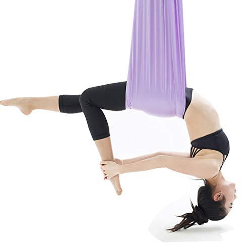 Yoga aérien anti-gravité hamac de yoga, 7 mètres x 2,8 mètres approprié pour 4 mètres-4,7 mètres,a