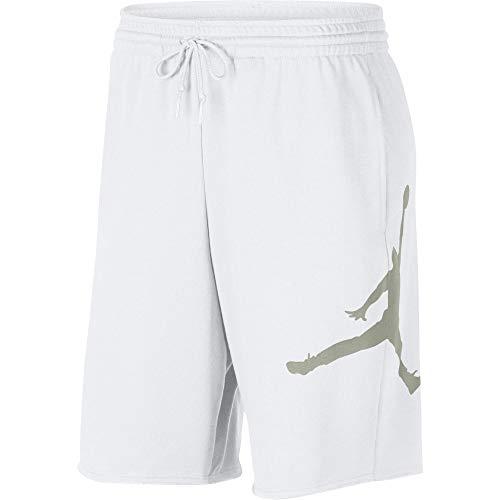 Jordan Short M J Jumpman Logo/Blanc