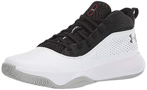Under Armour Lockdown 4, Chaussures de Basketball Homme, Noir (Black 001), 41 EU