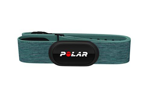 Polar H1O+ Capteur de Fréquence Cardiaque – Bluetooth, ANT+, ECG/EKG – Emetteur Cardiaque Waterproof avec Ceinture Pectorale, Bleu