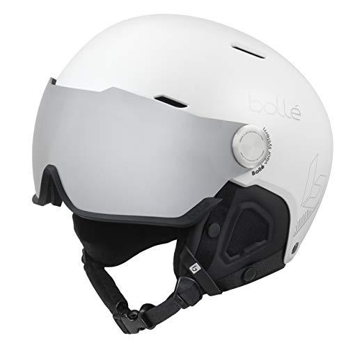 Bollé Might Visor Casques de Ski White Adulte Unisexe 52-55 cm
