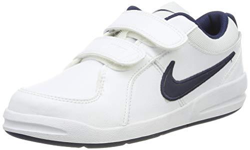 Nike Pico 4 (PSV), Chaussures de Running Entrainement garçon, Blanc (White/Midnight Navy) 28.5 EU