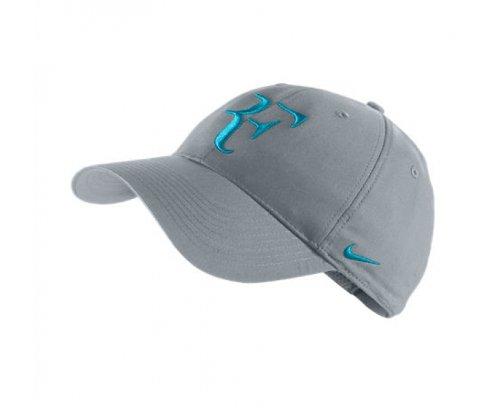 NIKE Roger Federer Hybrid Cap, Grey/Blue by Nike