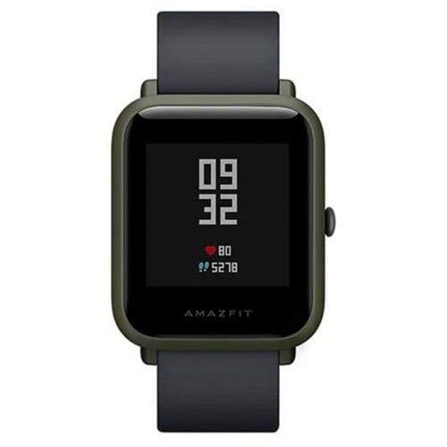 Amazfit Bip Xiaomi Smartwatch Montre Connectée Bracelet GPS de Running Tracker d'activité Cardio Version Internationale Noir