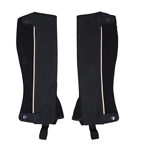RAD Amara Guêtres d'équitation Unisexe, Noir, XL