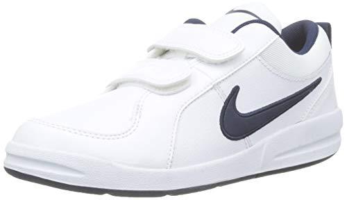 Nike Pico 4 (PSV), Baskets garçon, Blanc (White/Midnight Navy 101), 32 EU