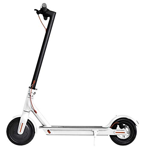 Xiaomi - Mi Scooter : Trottinette électrique blanche élégante avec pneus antidérapant