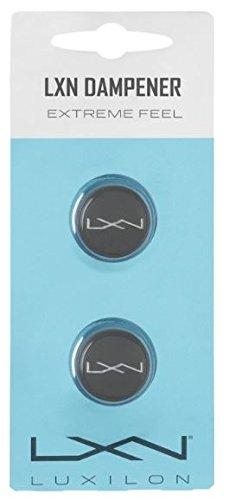 Wilson Amortisseur de vibrations Luxilon, LXN Dampener, 2 Pièces, pour Raquettes de Tennis, Gris, WRZ539000
