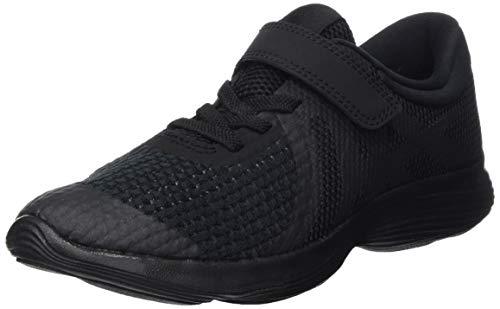 Nike Nike Revolution 4 (psv), Chaussures de  Running garçon - Noir (Black/Black 004), 33 EU