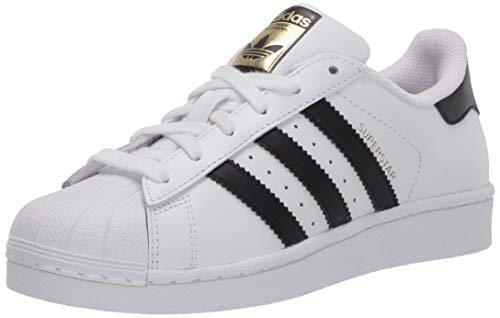 adidas Superstar, Chaussure de Course Homme, Blanc, Noir, Blanc, 41 1/3 EU