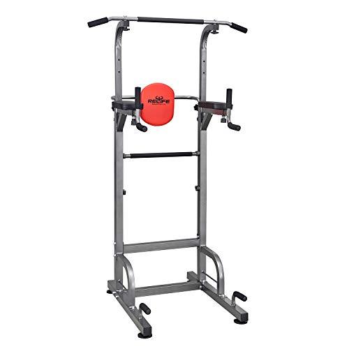 RELIFE REBUILD YOUR LIFE Station de Trempage D'entraînement de Tour de Puissance pour L'équipement de Forme Physique D'entraînement de Musculation à la Maison