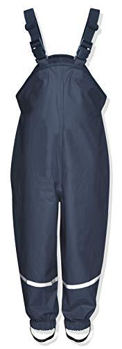Playshoes Regenlatzhose Textilfutter Pantalon De Pluie, Bleu (Marine), 92 Mixte bébé