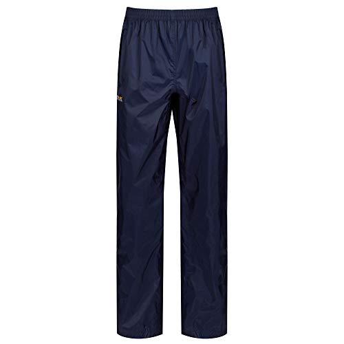 Regatta - Pack It - Pantalon de pluie - Femme - Bleu (Midnight) - Taille: L