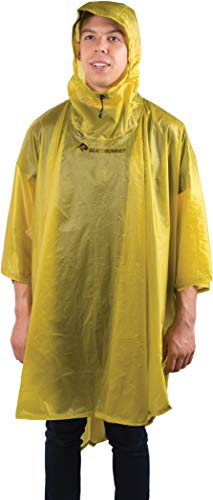 Sea to Summit Ultra Sil Nano Poncho Vert Citron