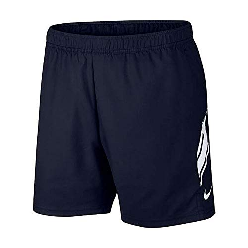 Nike M NK Dry Short 7IN Sport Homme, Gridiron/White/(White), FR : L (Taille Fabricant : L)