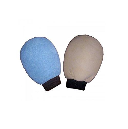 Gant Double face - Peau chamois / Microfibre - Entretien voiture - 812