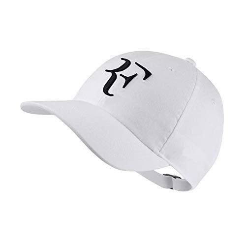 2Tennis Roger Federer Chapeau, Casquette De Tennis Unisexe Broderie Lettre F Sport Noir Blanc