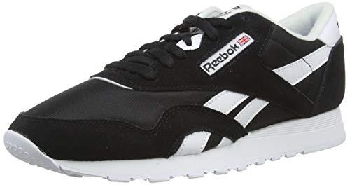 Reebok Classic Nylon, Chaussures de Running Compétition homme, 36088_39 EU_Platinum/Jet Blue, 46 EU