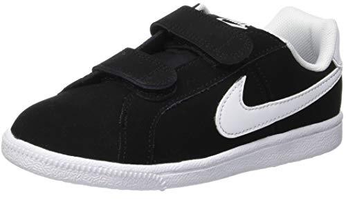 Nike Court Royale (PSV), Chaussures de Tennis garçon, Noir (Black/White 002), 35 EU