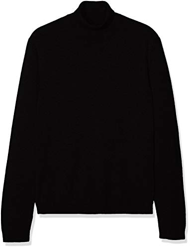 find. Cotton Roll Neck Pull, Noir (Black), 54 (Taille Fabricant: X-Large)