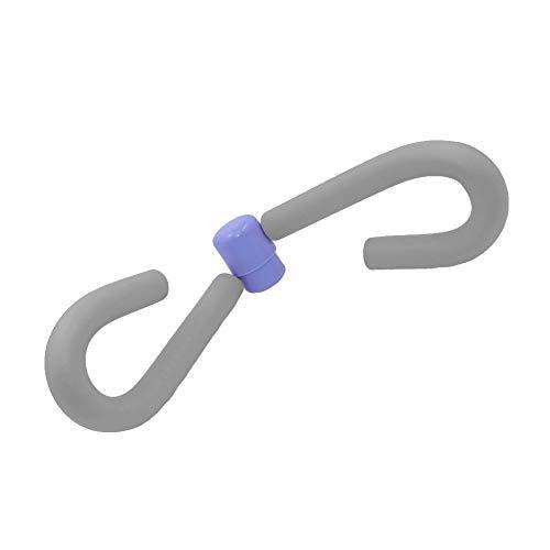 YGQersh Appareil de Musculation pour Fitness à la Forme de la Jambe, intérieur et extérieur à la Cuisse Mince - Gris