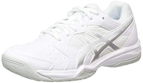 ASICS Gel-Dedicate 6, Chaussures de Tennis Femme, Blanc (White/Silver 101), 40 EU