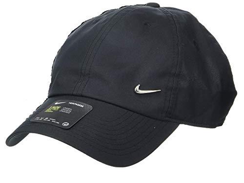 Nike 943092-010 Casquette de Baseball Mixte, Noir (Black/Metallic Silver 010), Unique (Taille Fabricant: MISC)