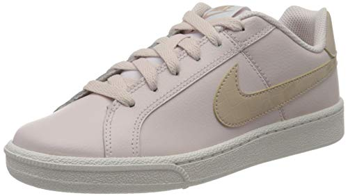 Nike WMNS Court Royale, Chaussure de Tennis Femme, Barely Rose Fossil Stone White, 36 EU
